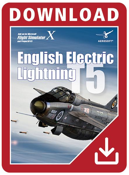 English Electric Lightning T5 (Download Version) (Aerosoft AS14063-D)