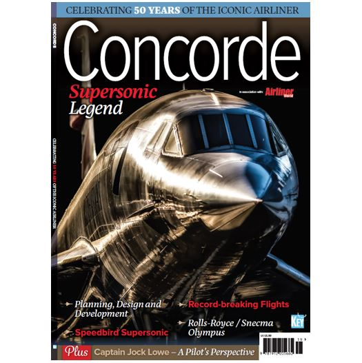 Concorde - Supersonic Legend. Airliner World Special  9781912205669