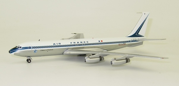 Boeing 707-328 Air France F-BHSB Polished  With Stand  IF707AF0420P