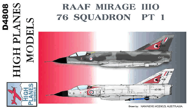 Mirage IIIO part 1 (76sq RAAF)  D4808