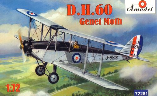 De Havilland DH60 Genet Moth  72281
