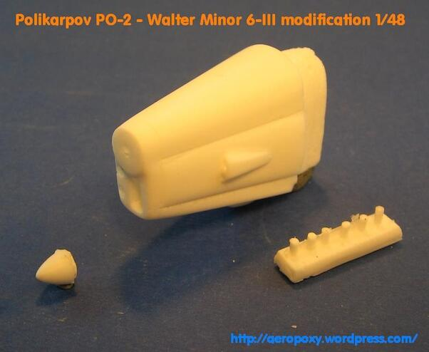 Polikarpov PO-2 Walter Minor engine conversion set (ICM)  po2