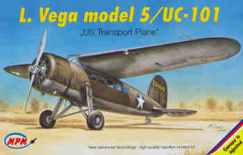 Lockheed Vega model 5/ UC101  72522