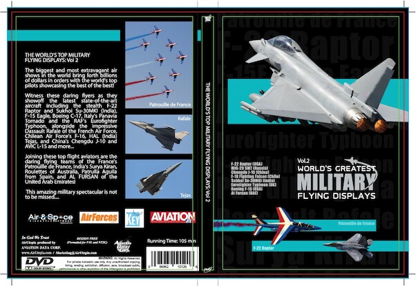 World's Greatest Military Flying Displays Vol 2  0096962101206