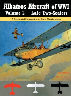 Albatros Aircraft of WW1 Volume 2: Late Two-seaters  9781935881483