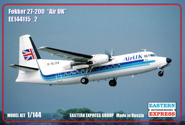 Fokker F27-200 (Air UK) NEW SUPPLiER, LOWER PRICE!)  144115-2