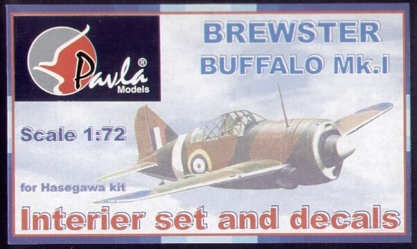 Brewster Buffalo MK1 interior set and decals  c72048