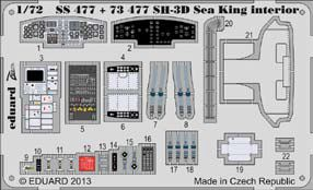 Detailset SH3D Sea King Interior Self Adhesive (Cyber Hobby)  SS477