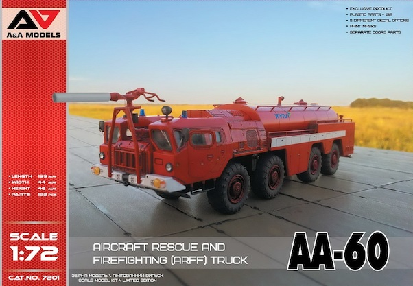 AA-60 Aircraft rescue and firefighting truck  AAM72001