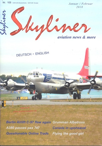 Skyliner, Aviation News & More Nr. 105 Januar/Februar 2018  SKYLINER 105