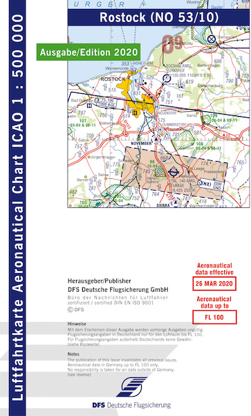 ICAO chart Germany Rostock 2020  53-10