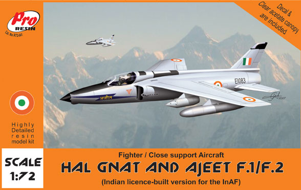 HAL Gnat and Ajeet F1/F2 (Indian licence built version)  R72-041