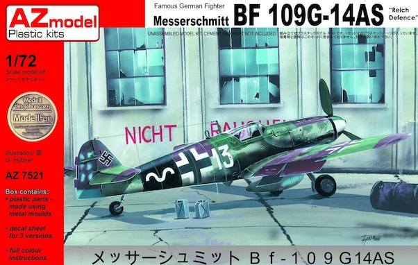 Messerschmitt BF109G-14AS