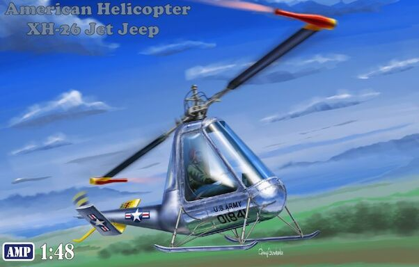 American Helicopter XH26 Jet Jeep  48007