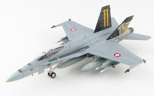 Hobby Master 1:72 F//A-18C Hornet Swiss Air Force 17 Staffel Falcons #J-5017