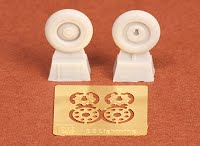 E.E. Lightning mainwheel set  (Airfix)  SBS72020