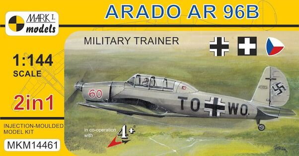 Arado Ar96B 'Military Trainer' (2 kits included)  MKM14461