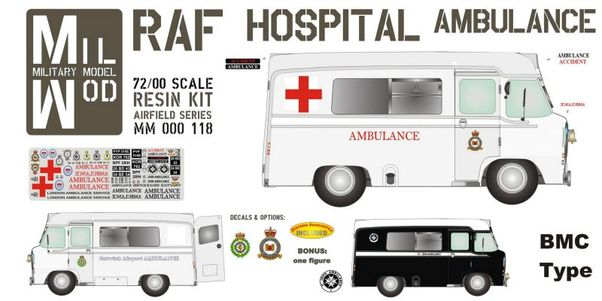 RAF Hospital Ambulance BMC Type  MM000-118