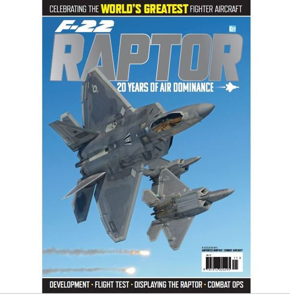 F22 Raptor: 20 years of air dominance  978191220529517