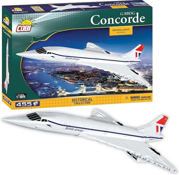 Concorde British Airways G-BBDG 455 pieces  1917