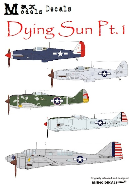 Dying Sun Pt 1, Jap aircraft in USA markings  MM72-0100