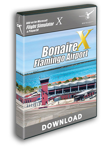 Bonaire Flamingo Airport X (download version)  13625-D