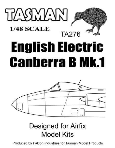 EE Canberra B MK1 Fishbowl Canopy and nose cone (Airfix)  TA276