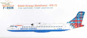 ATR 72 (British Airways)  FR14020