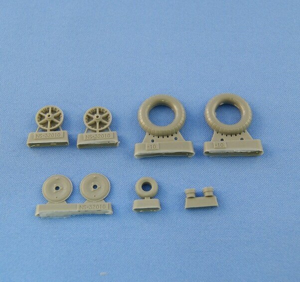 Wheel set for Messerschmitt BF109F-2/G-2 (Continental)  NS48021