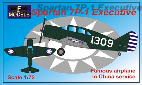 Spartan 7P-1 Executive (China)  72103