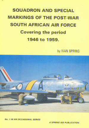 Squadron & Special Markings of the Postwar SAAF  0620188073