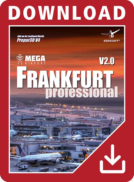 Mega Airport Frankfurt V2 0 professional (Download version) (Aerosoft  14163-D)