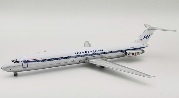 DC9-51 (SAS scandinavian Airlines) YU-AJU With Stand  IFDC951SK0219AP