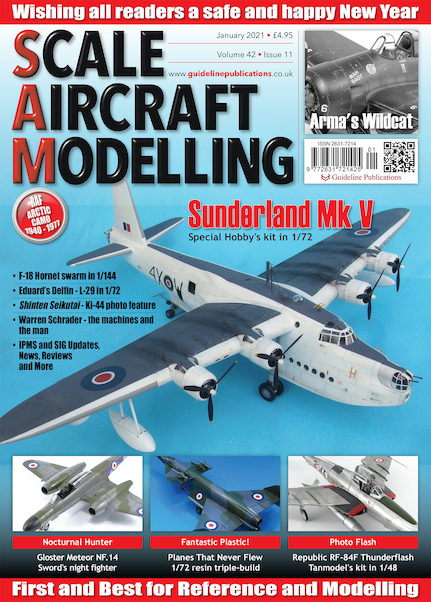 Scale Aircraft Modelling Vol.42 Issue 11 January 2021  977263172142501