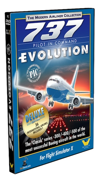 Boeing 737 Pilot in Command Evolution DELUXE with Airlines Pack (download version)  0649875001462-D