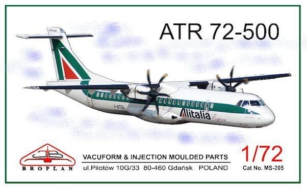 ATR72-500 (Alitalia & Pakistan Navy)  MS-205