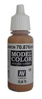 Vallejo Model Color Brown Sand (RLM79)  val132