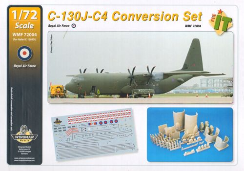 Lockheed C130J-C4 Conversion Set RAF (Italeri)  WMF72004