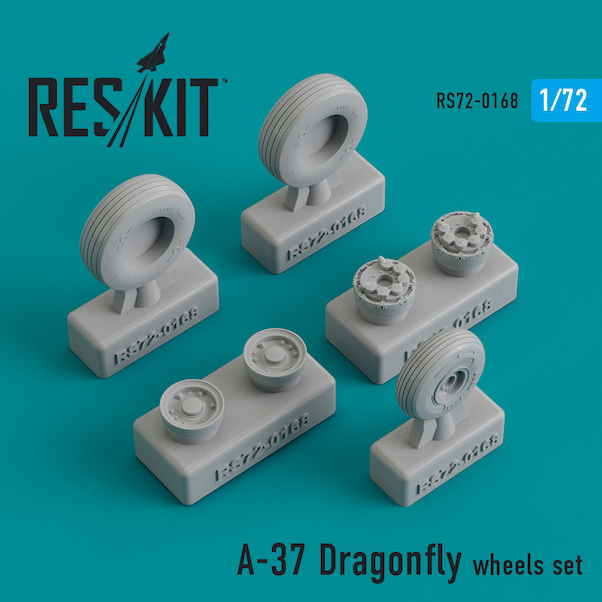 Cessna A37 Dragonfly Wheel set  RS72-0168
