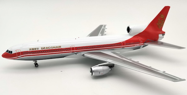 Lockheed L1011 Tristar Dragonair VR-HOD With Stand and Key Chain  JF-L1011-014