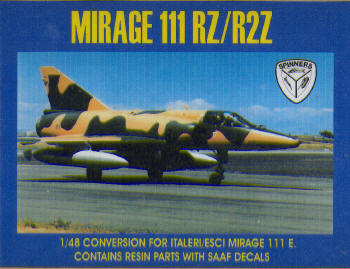 Mirage IIIRZ-R2Z Conversion (Italeri-Esci)  SW48-04