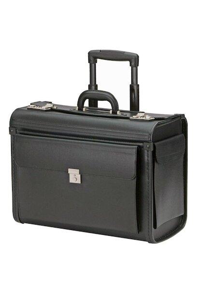 pilot trolley case model 7040p black. Black Bedroom Furniture Sets. Home Design Ideas