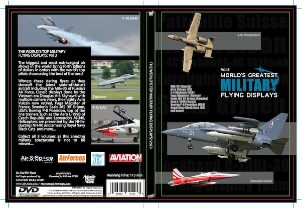 World's Greatest Military Flying Displays Vol 3  0096962101213