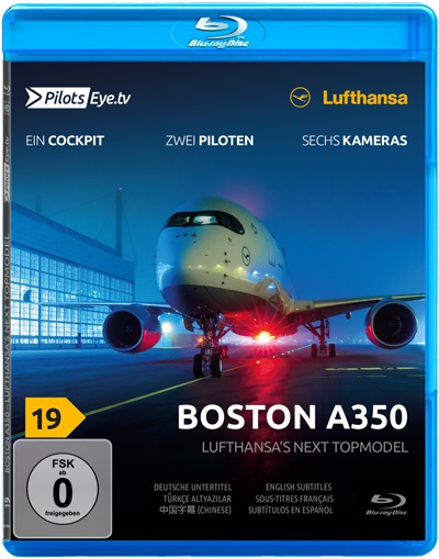 Boston A350: Lufthansa's next topmodel (blu-ray)  4260139480395