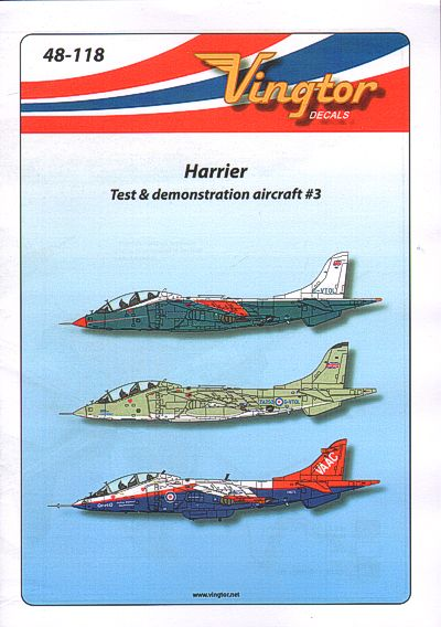 Harrier Test and Demonstration Aircraft Part 3  48-118
