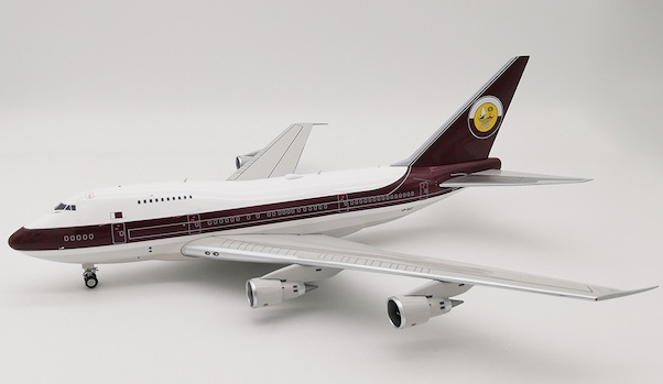 Automodelismo y aeromodelismo If747sp0518-1/200 qatar amiri Flight b747sp VP-Bat with stand inflight 200 nuevo Juguetes