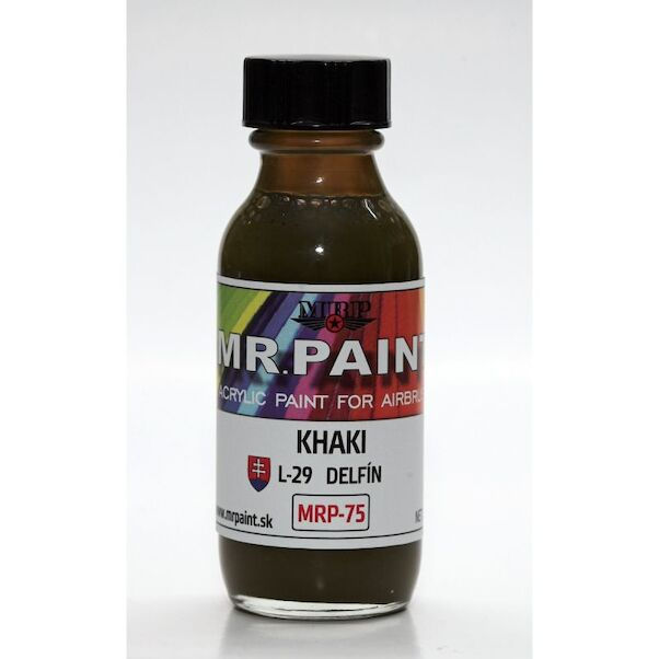 Khaki Slovak AF L29 Delfin (30ml Bottle)  MRP-75