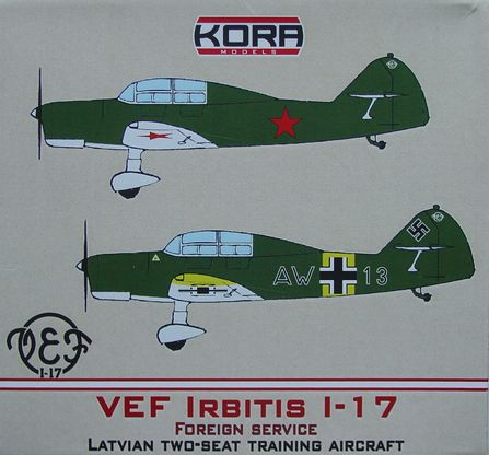 VEF Irbitis I-17 Latvian two seat trainer (Foreign Service)  K72215