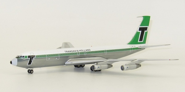 B707-329C (Transavia Holland) PH-TVK With Stand  IF707HV0618P