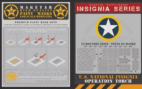 US Insignia ',Operation Torch